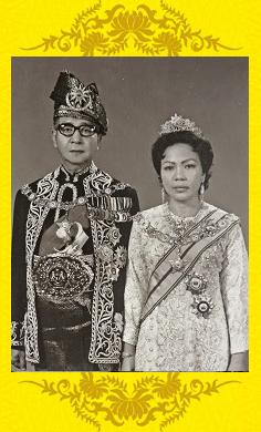 Yang Di Pertuan Agong dan Raja Permaisuri Agong Keempat