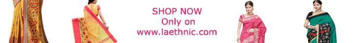 बनारसी साड़ियाँ खरीदें - laethnic.com/sarees