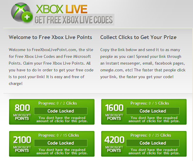 free xbox live codes giveaway today