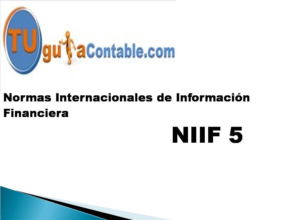Activos no Corrientes Mantenidos para la Venta y Operaciones ...