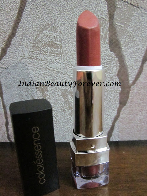 coloressence lipstick peachy pink