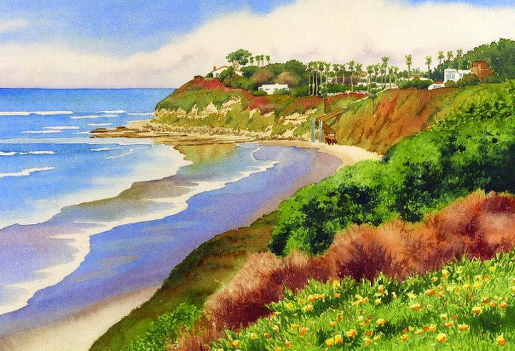 paisajes-costeros-en-pinturas-acuarelas