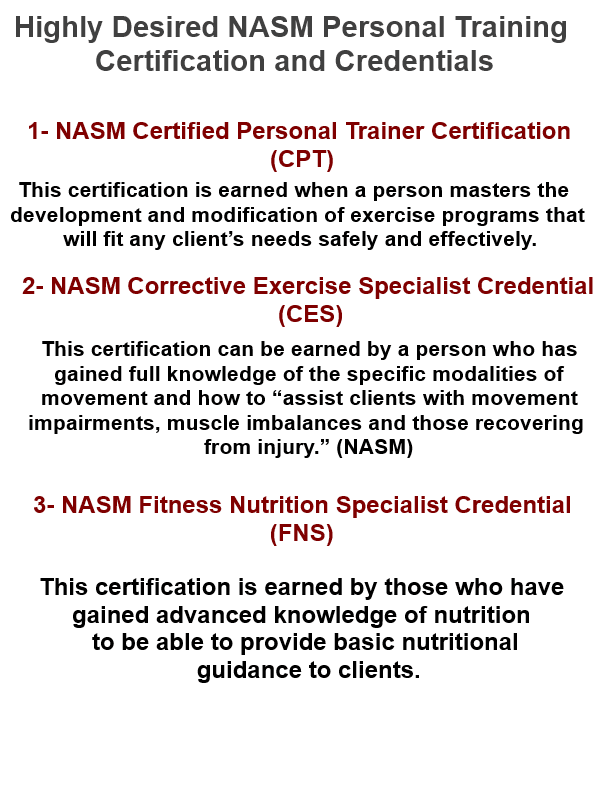 Personal Training Certifications 02eumar