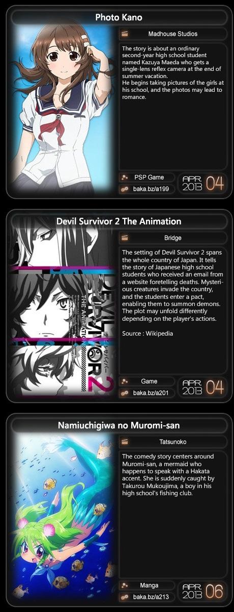 Berikut Jadwal film anime yang akan tayang: