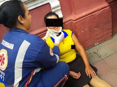 Acidente de trânsito com funcionária da Casa Primor é registrado em Limoeiro
