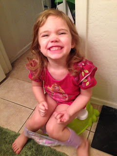 Our Happily Ever After: Potty Training!