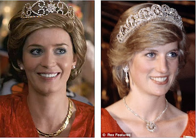 Emily Blunt As Princess Diana