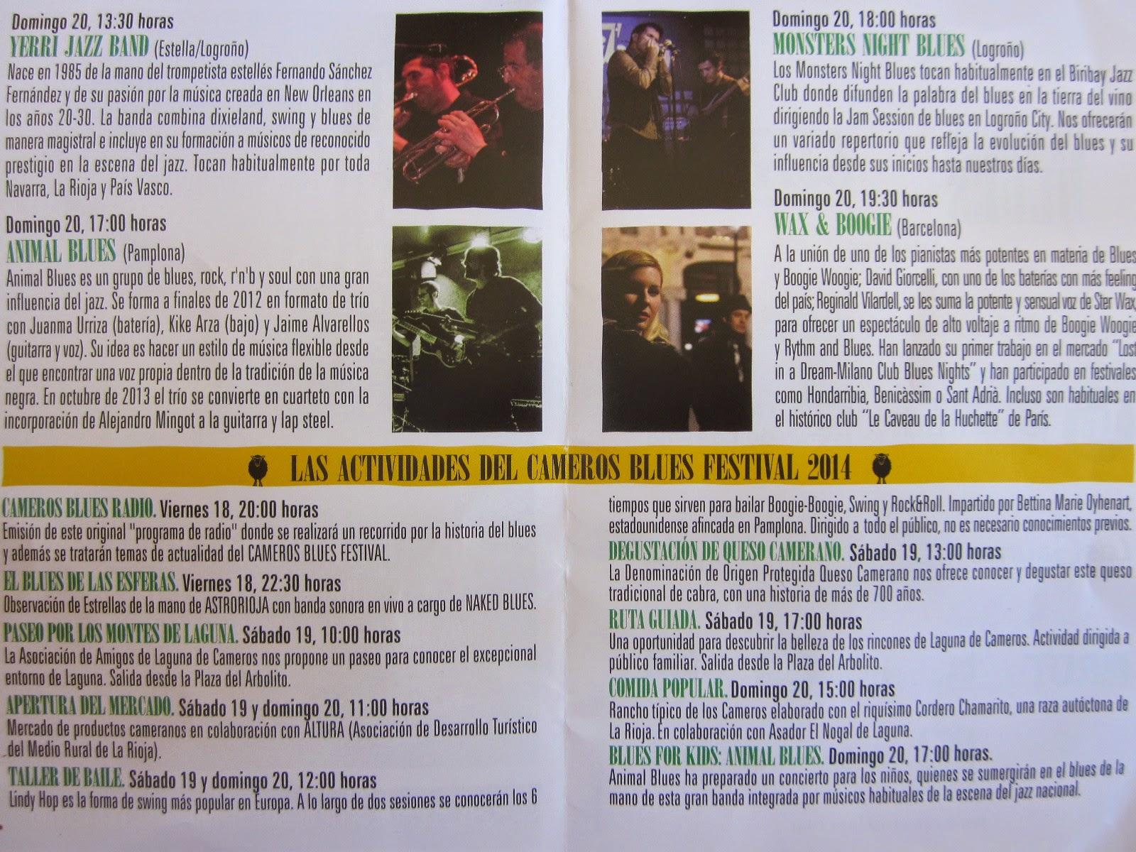 """""""II Cameros Blues Festival"""", 2014. Laguna de Cameros"""