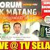 Siaran Langsung Forum Politik Matang Menurut Perspektif Islam