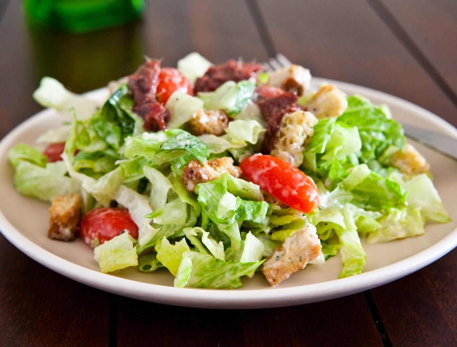 Цезарь салат рецепт