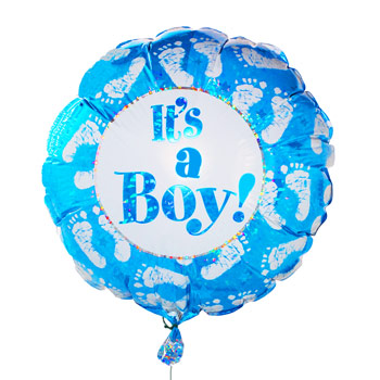 Balloon Baby Boy