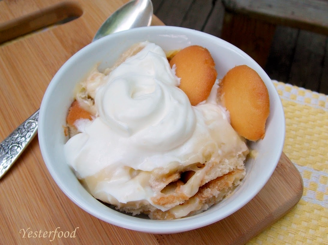 Yesterfood : Banana Pudding From Scratch