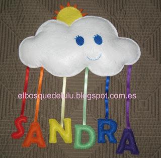 nombre-fieltro-nube-arcoiris