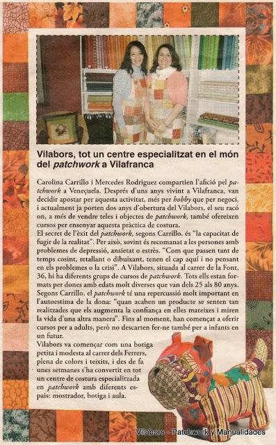 "Carolina Carrillo y Mercedes Rodríguez - Vilabors - entrevistadas por ""Penedès Econòmic"""