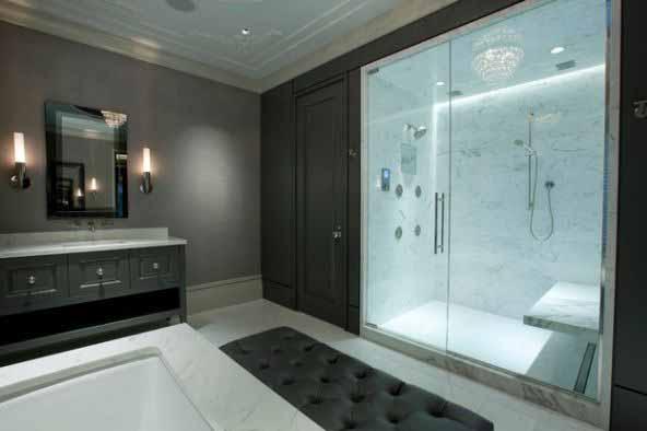 Gambar pintu kaca kamar mandi