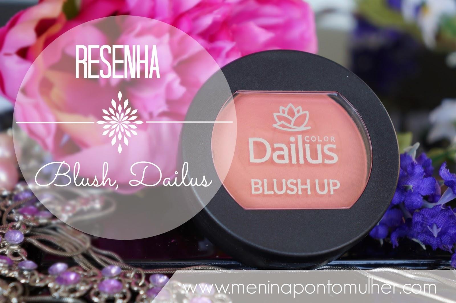 RESENHA || Blush - Dailus Color - 02 Salmão