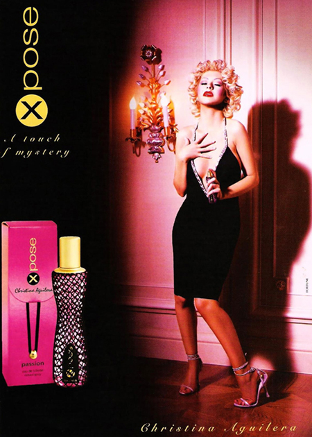 Celebrities, Movies and Games: X Pose Perfumes by ...