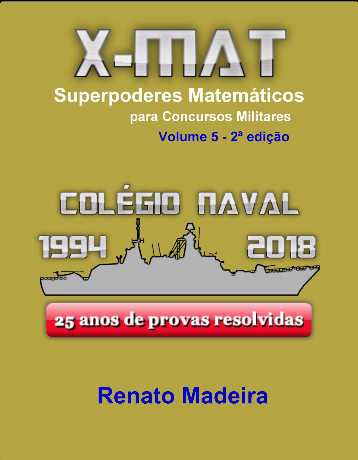 Livro X-MAT - Colégio Naval por R$79,00 na Dissonarte editora!