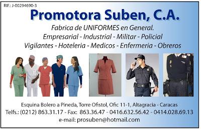 PROMOTORA SUBEN, C.A. en Paginas Amarillas tu guia Comercial