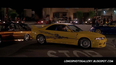 The Fast and The Furious Nissan Skyline GTR R33