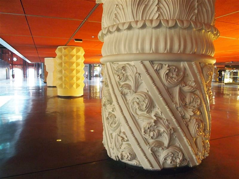 Columnas Alhóndiga Bilbao