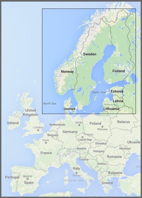 Scandinavin-Nordic-countries