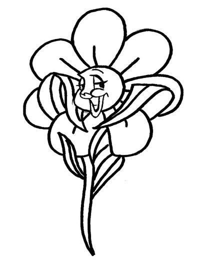 lindas flores para colorir desenho de margarida para pintar
