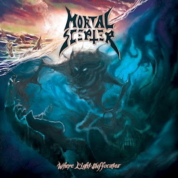"MORTAL SCEPTER - ""WHERE LIGHT SUFFOCATES"""