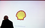 Shell official walks away, head hanging