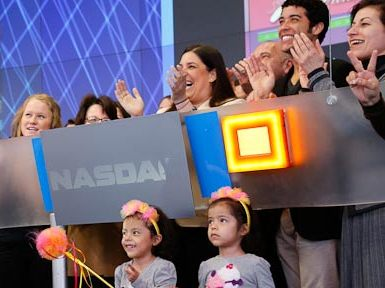 Photo Flash: Dan Domenech, Dancing Dreams at NASDAQ Opening Bell