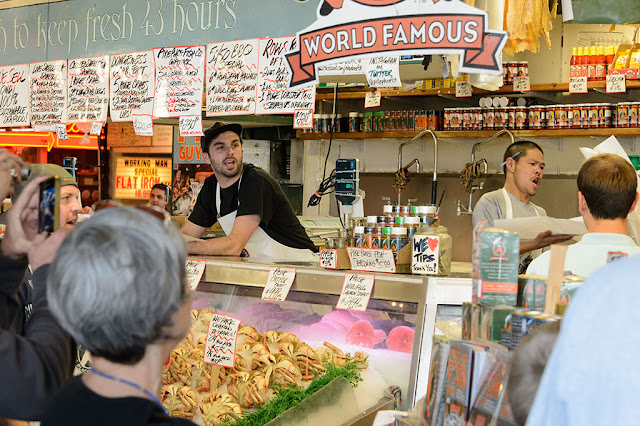 Fish Mongers at Pike Place Fish Market
