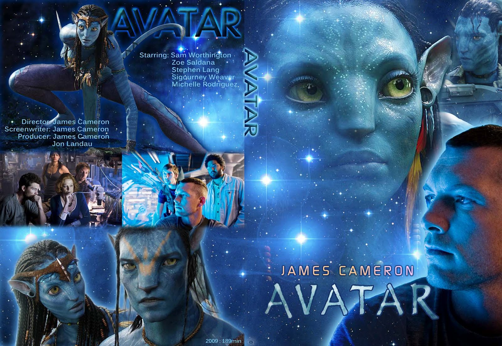 Avatar Movie Jacket