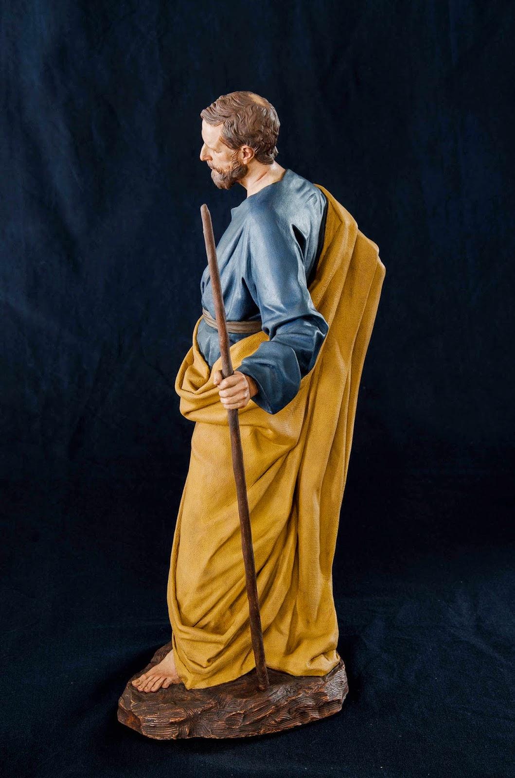 Nacimiento Belén Nativity krippe Arturo Serra Barro cocido 4