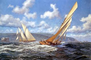 Vistas Mainas Barcos Vela