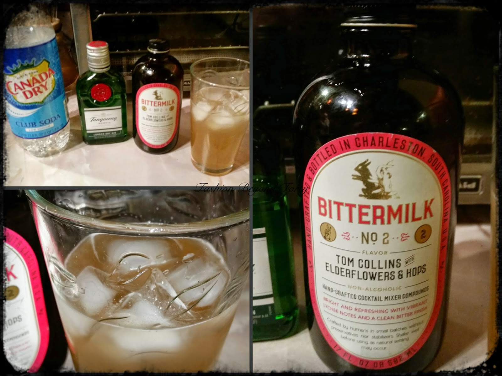 Bittermilk Tom Collins Elderflowers & Hops Fashion Beyond Forty