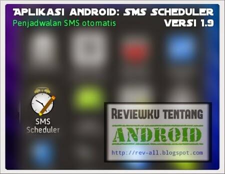 Ikon SMS Scheduler versi 1.9