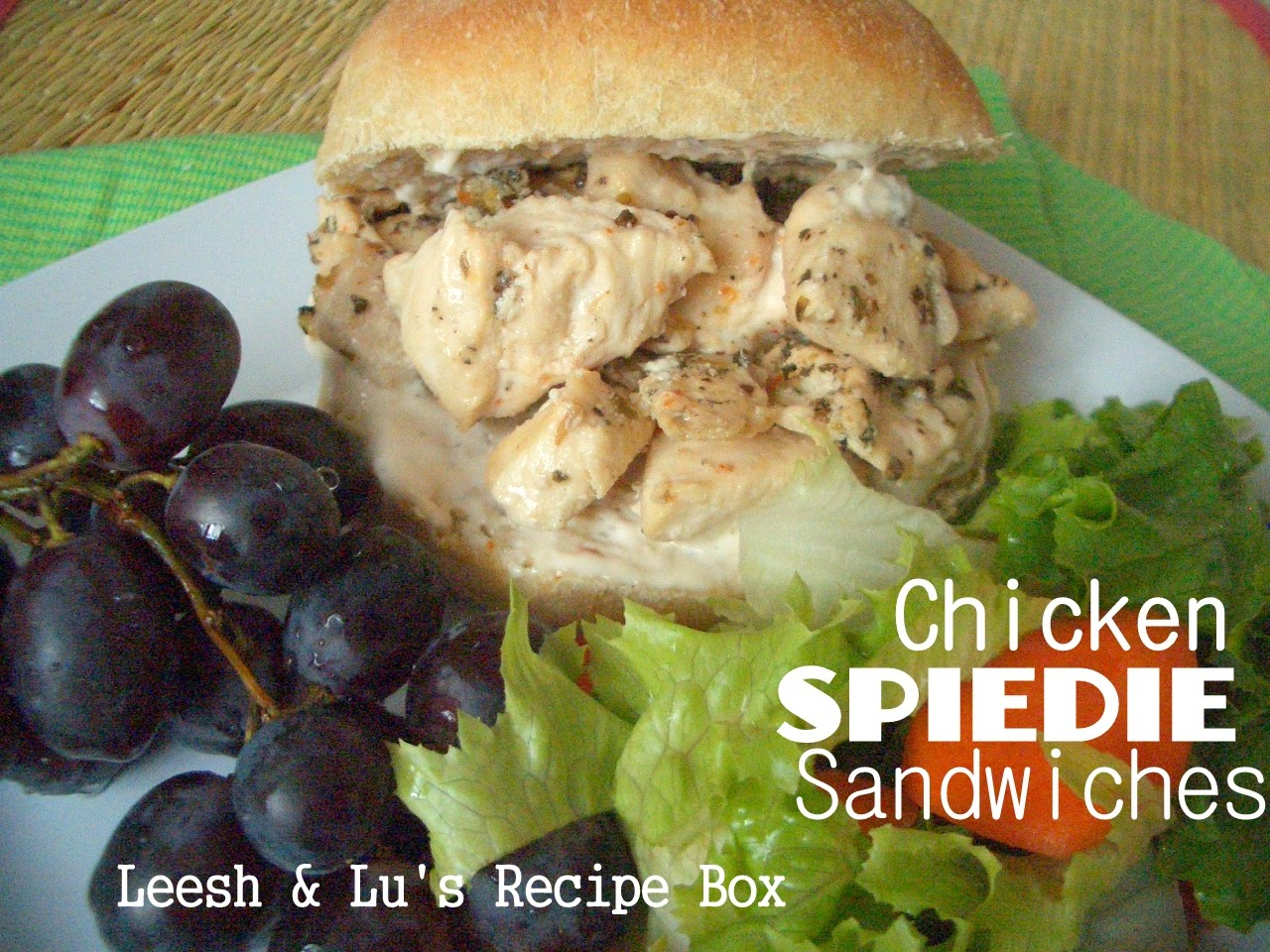 Chicken Spiedies (Lemon And Herb-Marinated Grilled Chicken Sandwiches ...