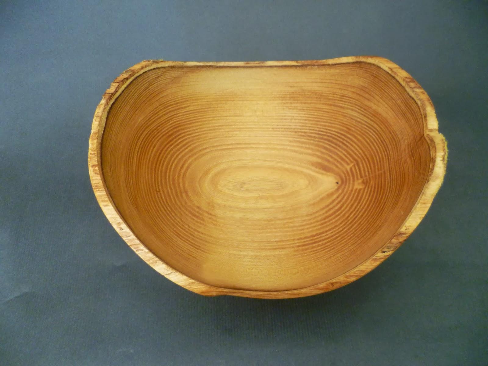 atelier du bois tourn woodturning design une coupe fruits bord naturel. Black Bedroom Furniture Sets. Home Design Ideas