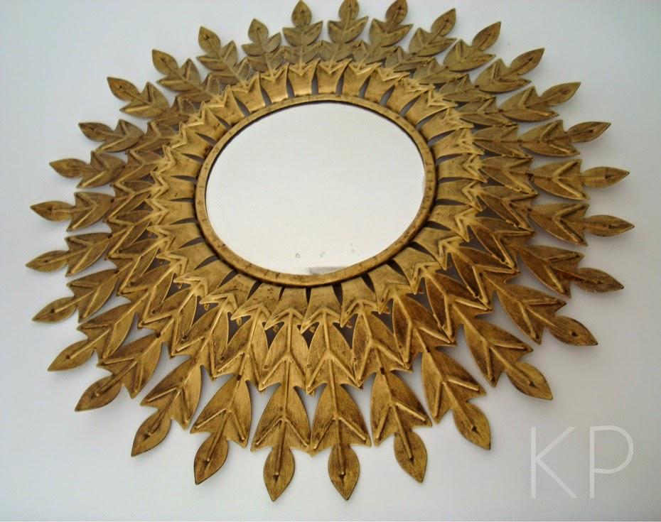 Comprar espejo sol antiguo años 50 estilo vintage