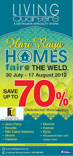 Living Quarters Hari Raya Homes Fair Sale 2012