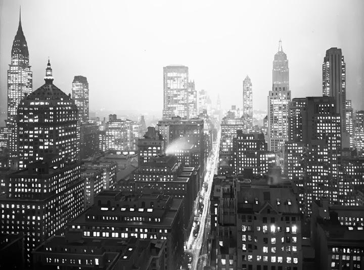 New york en noir et blanc immobilier new york avec nadine frenette - Immobilier a new york ...