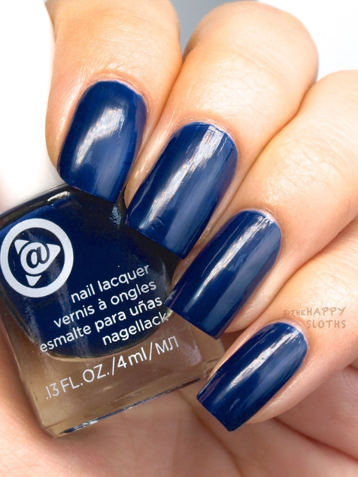 Mary Kay At Play Hail to the Nails Mini Nail Lacquer Trio: Review and Swatches Inky Blue