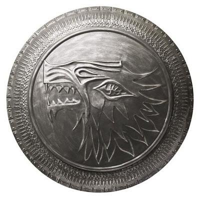 Réplica de Escudo Stark Game of Thrones