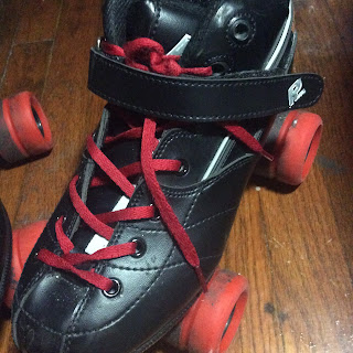 Old Roller Skates:  PRELightUp