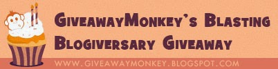 Giveaway Monkey's 2nd Year Blasting Blogiversary Giveaways
