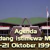 4 Agenda Sidang istimewa MPR tanggal 1-21 Oktober 1999