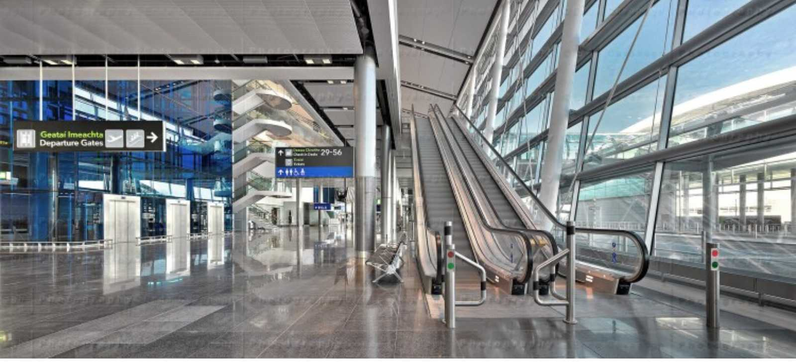 dublin airport terminal 2 by pascall watson architects