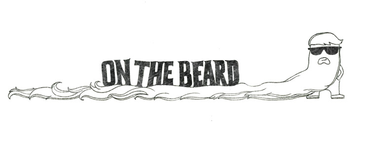 On the beard