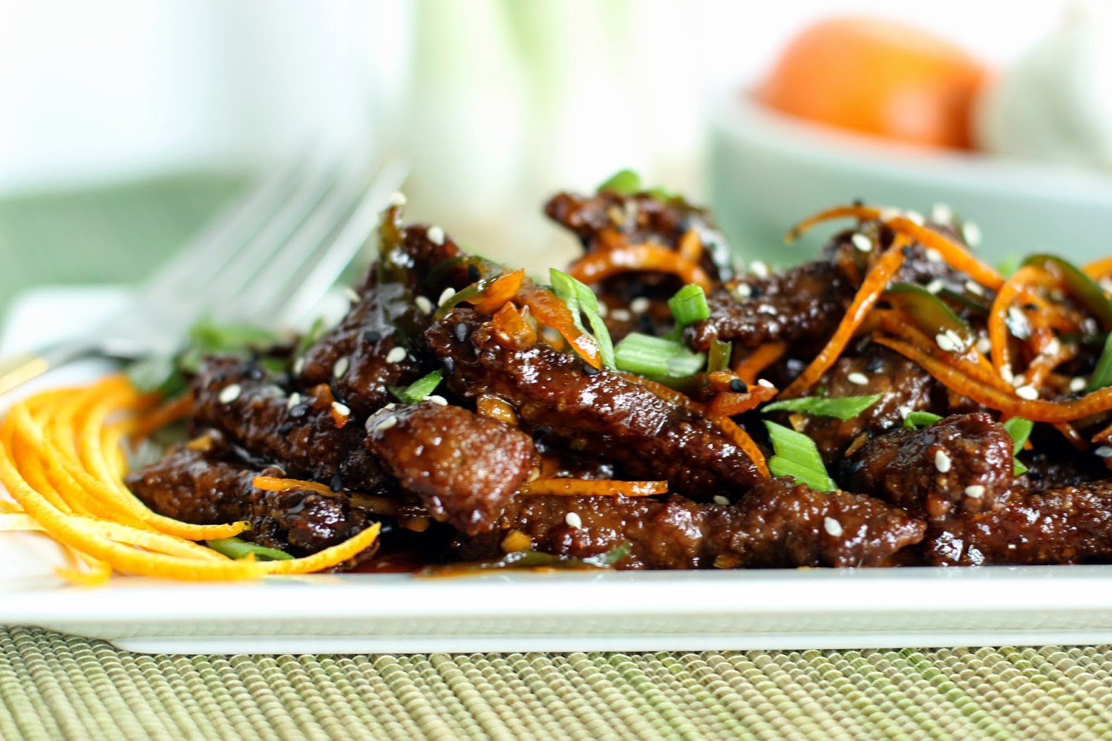The Owl with the Goblet: Crispy Orange Peel Beef