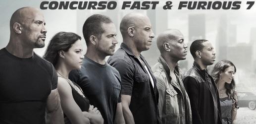 CONCURSO FAST & FURIOUS 7